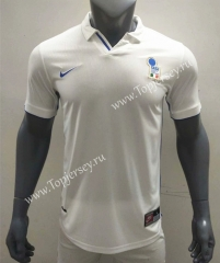 Retro Version 1998 Italy Away White Thailand Soccer Jersey AAA-416