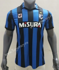 Retro Version 1988-1989 Inter Milan Home Blue&Black Thailand Soccer Jersey AAA-416