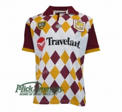 Retro Version 1995 Mustang White Thailand Rugby Shirt