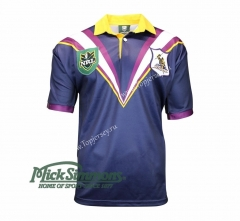 Retro Version 1998 Melbourne Storm Royal Blue Thailand Rugby Shirt