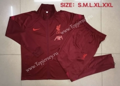 2020-2021 Liverpool Red Thailand Soccer Jacket Uniform-815