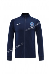 2020-2021 Paris SG Royal Blue Thailand Training Soccer Jacket -LH