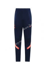 2020-2021 Tottenham Hotspur Royal Blue Thailand Training Soccer Jacekt Long Pants-LH