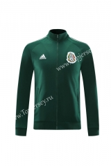 2020-2021 Mexico Green (Ribbon) Thailand Soccer Jacket-LH