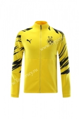 2020-2021 Borussia Dortmund Yellow Thailand Training Soccer Jacket-LH