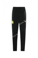 2020-2021 Borussia Dortmund Black Thailand Training Soccer Jacket Long Pants-LH