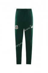 2020-2021 Mexico Green (Ribbon) Thailand Soccer Jacket Long Pants-LH