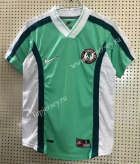 Retro Version 1998 Nigeria Home Green Thailand Soccer Jersey AAA-811