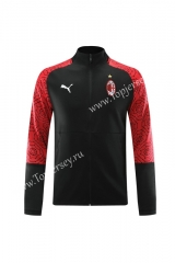 2020-2021 AC Milan Black Training Thailand Soccer Jacket-LH