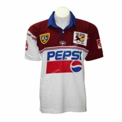 50 Commemorative Edition Sea hawk White&Red Thailand Rugby Jersey