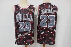 Limited Version Chicago Bulls Black #23 NBA Retro Jersey