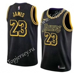 Los Angeles Lakers Black #23 NBA Jersey