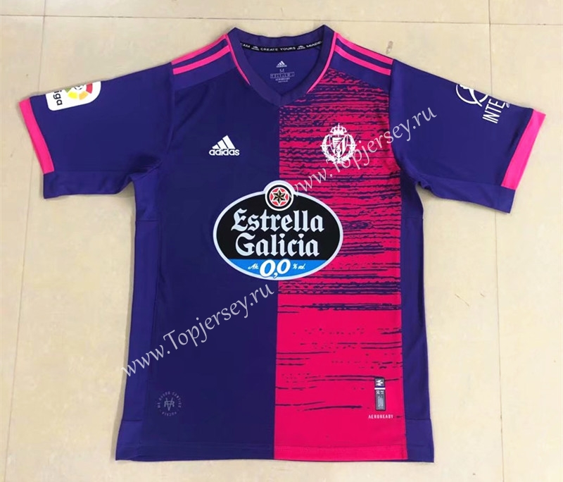 2020-2021 Real Valladolid Away Purple&Pink Thailand Soccer Jersey ...