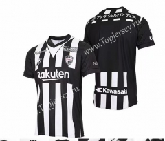 25th Anniversary Edition Vissel Kobe Black&White Thailand Soccer Jersey AAA-417