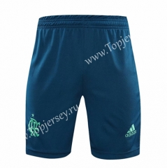 2020-2021 Flamengo Goalkeeper Blue Thailand Soccer Shorts-418