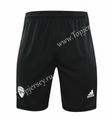 2020-2021 Arsenal Goalkeeper Black Thailand Soccer Shorts-418