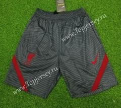 2020-2021 Liverpool Dark Gray Thailand Training Soccer Shorts-418