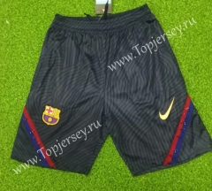 2020-2021 Barcelona Dark Gray Thailand Training Soccer Shorts-418
