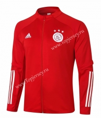 2020-2021 Ajax Red Thailand Soccer Jacket-815