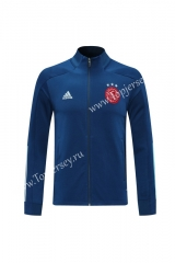 2020-2021 Ajax Camouflage Blue Thailand Training Soccer Jacket-LH