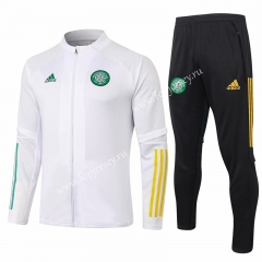 2020-2021 Celtic White Thailand Soccer Jacket Uniform-815