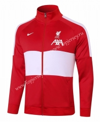 2020-2021 Liverpool Red&White Thailand Soccer Jacket-815