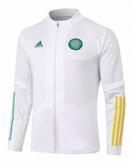 2020-2021 Celtic White Thailand Soccer Jacket-815