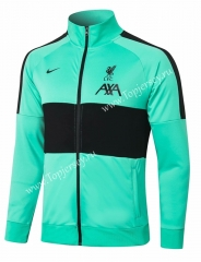 2020-2021 Liverpool Green Thailand Soccer Jacket-815