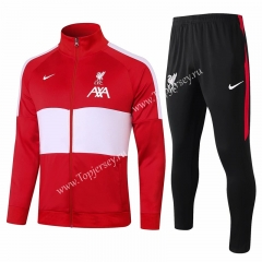 2020-2021 Liverpool Red&White Thailand Soccer Jacket Uniform-815