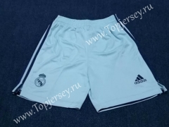 2020-2021 Real Madrid Goalkeeper Blue Thailand Soccer Shorts-418