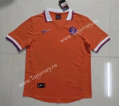 Retro Version 1997 Netherlands Home Orange Thailand Soccer Jersey AAA