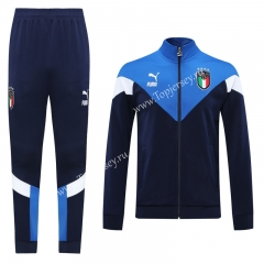 Classic Edition 2020-2021 Italy Royal Blue Thailand Soccer Jacket Uniform-LH