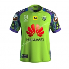 2020-2021 Commemorative Edition Raiders Green Thailand Rugby Jersey