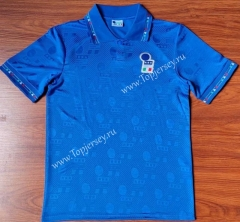 Retro Version 1994 Italy Home Blue Thailand Soccer Jersey AAA-912