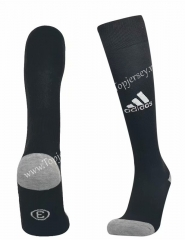 Black Soccer Normal Socks