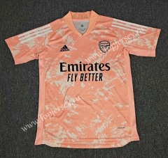 2020-2021 Arsenal Light Pink Thailand Soccer Training Jersey AAA-418