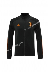 2020-2021 Juventus Black (Ribbon) Thailand Training Soccer Jacket -LH