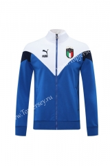 Classic Edition 2020-2021 Italy Camouflage Blue Thailand Soccer Jacket-LH