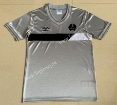 Retro Version 1986 Newcastle United Away Gray Thailand Soccer Jersey AAA-AY