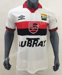 100th Anniversary Edition Flamengo Away White Thailand Soccer Jersey AAA-416