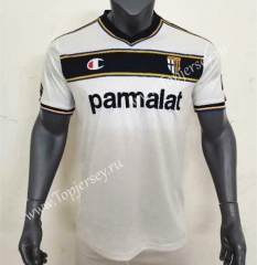 Retro Edition 02-03 Parma Calcio Away White Thailand Soccer Jersey AAA-416