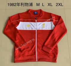 Retro Version 1982 Liverpool Red Thailand Soccer Jacket-AY