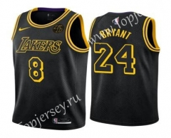 Los Angeles Lakers Black #8/24 NBA Jersey