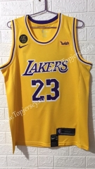 Los Angeles Lakers Yellow #23 NBA Jersey