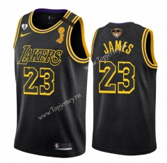 Champions Version Los Angeles Lakers Black #23 NBA Jersey