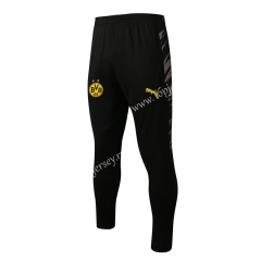 2020-2021 Borussia Dortmund Black Thailand Soccer Jacket Long Pants-815