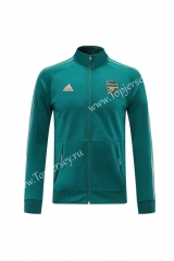 2020-2021 Arsenal Lake Blue Thailand Soccer Jacket-LH