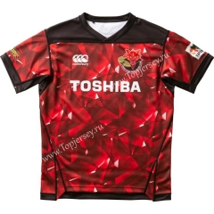 2020-2021 Brave Lupus Home Red Thailand Rugby Jersey