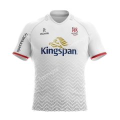 2020-2021 Alster Home White Thailand Rugby Jersey