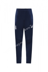 2020-2021 Real Madrid Royal Blue Thailand Soccer Jacket Long Pants-LH